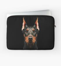 Doberman low poly Laptop Sleeve