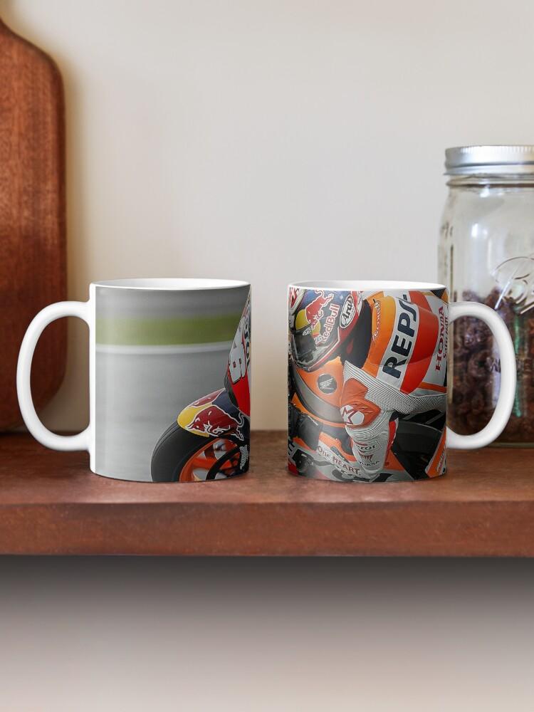 Alternate view of Pedrosa - Silverstone MotoGP Mug