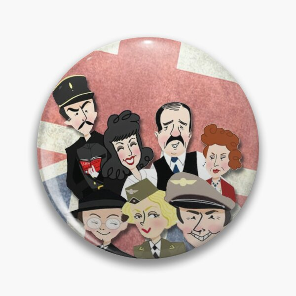 Allo Allo cast Best of British Comedy design available on a wide range of clothing, stationery and giftware. Pin