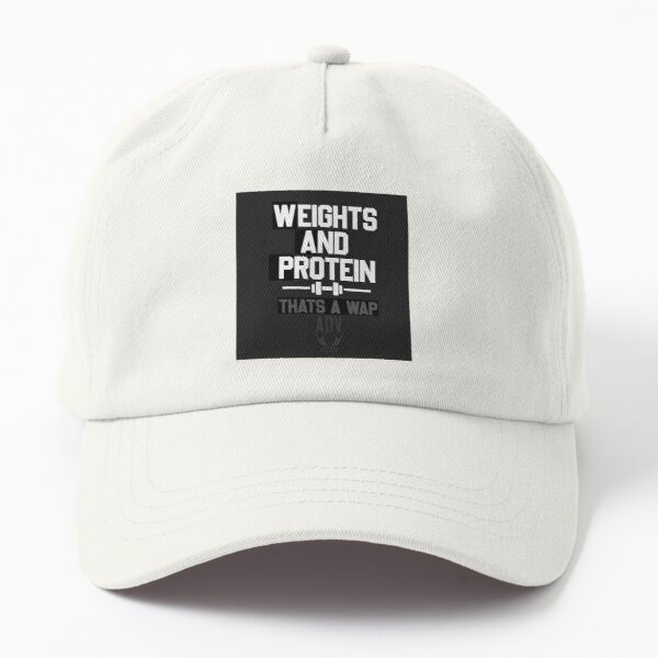 Funny Fitness Quote Dad Hat