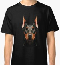 Doberman low poly Classic T-Shirt
