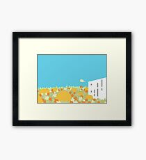 Great Fall Pumpkin Patch Framed Print