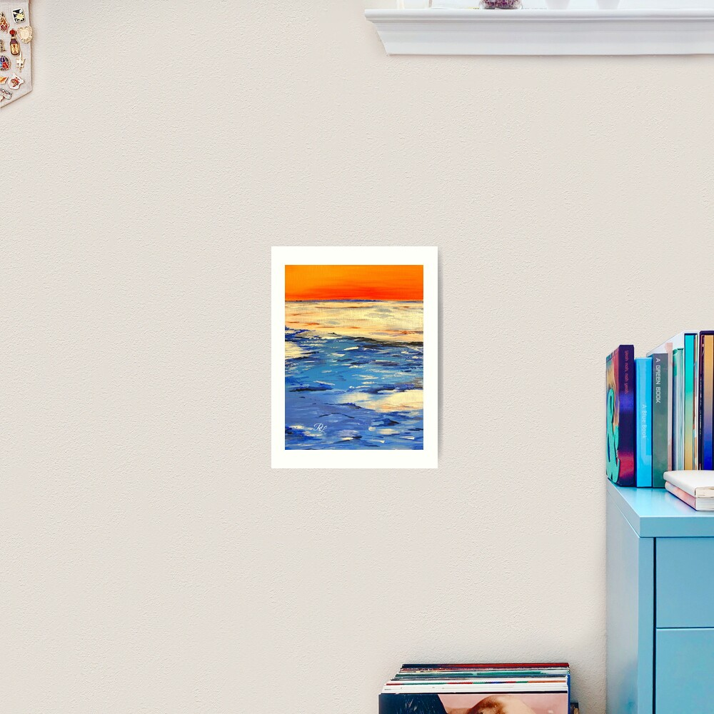 Time Abstract  Art Print