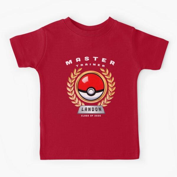 "Master Trainer ""Landon"" Class of 2025 (Custom Boys) Kids T-Shirt"