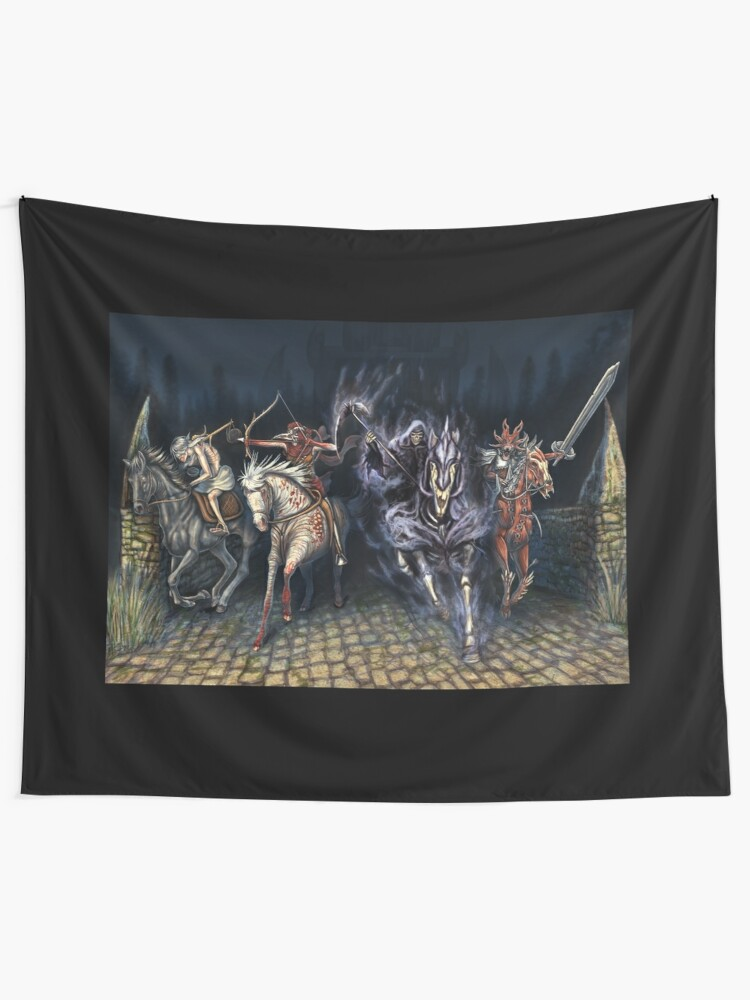 The Four Horsemen of the Apocalypse | Wall Tapestry