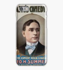 Performing Arts Posters Waites Comedy Co 0483 iPhone Case/Skin