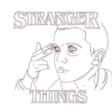 Eleven Stranger Things by jijiru