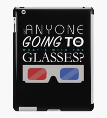 Doctor Who 3D Glasses iPad Case/Skin