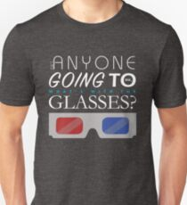 Doctor Who 3D Glasses T-Shirt