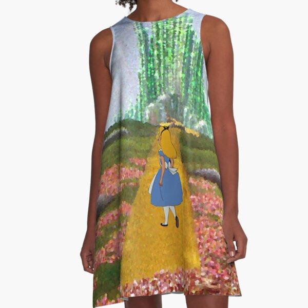 Alice In Oz A-Linien Kleid
