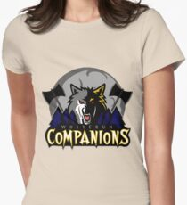 Whiterun Companions Basketball Logo Womens Fitted T-Shirt
