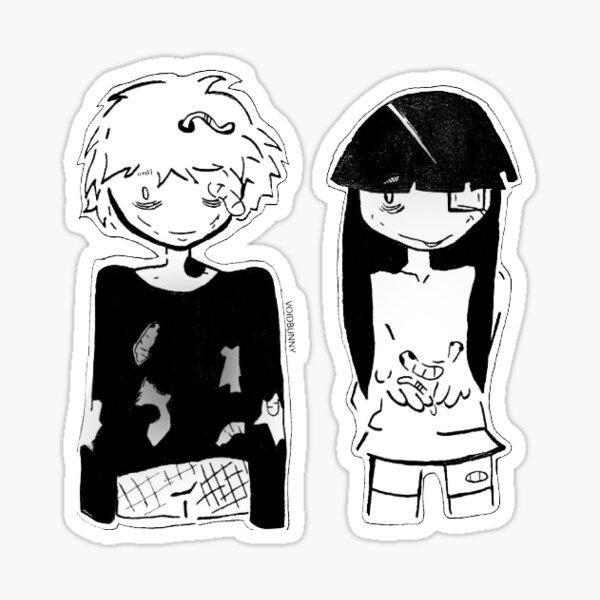 Larve Brüder Sticker