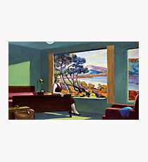 Southern Motel - Hopper x Unknown Photographic Print