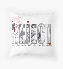 Rejects  Throw Pillow