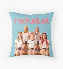 Red Velvet Russian Roulette Throw Pillow