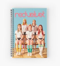 Red Velvet Russisches Roulette Spiralblock