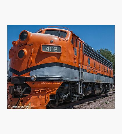Royal Gorge Railroad Diesel # 402  Photographic Print