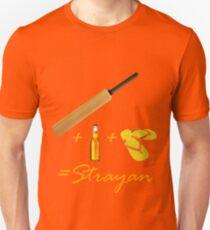 Cricket + Beer + Thongs = Strayan Unisex T-Shirt