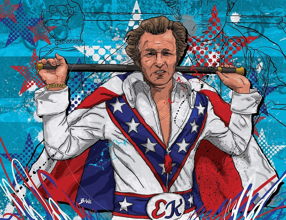 Evel Knievel – Daredevil, A True Superstar by Todd Bane