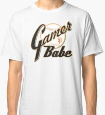 SF Giants Gamer Babe Classic T-Shirt