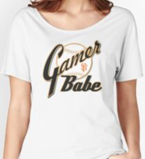 SF Giants Gamer Babe Women's Relaxed Fit T-Shirt