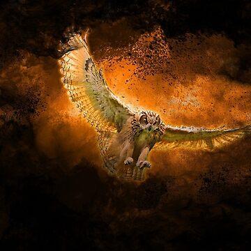 Fire Owl by KayJay28
