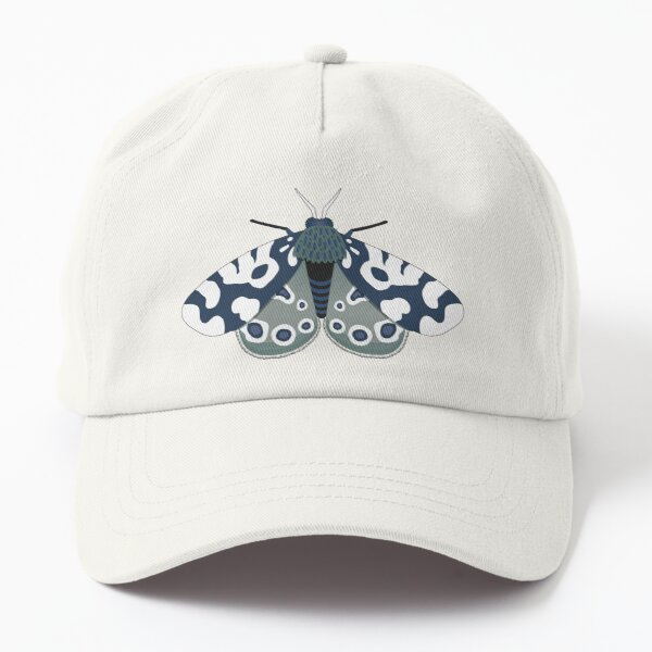 Mod Moths - Navy and Lilac Dad Hat