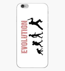 Evolution of Mankind (for cricketers) iPhone-Hülle & Cover