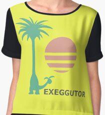 Dexio's ALOLAN EXEGGUTOR Shirt | Pokémon Sun/Moon Women's Chiffon Top