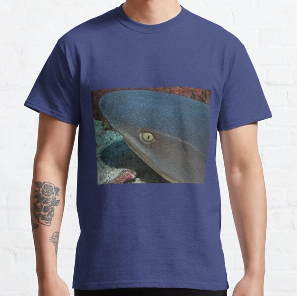 The Eye of a White Tip Reef Shark Classic T-Shirt
