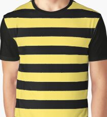 Me Before You - Black and Yellow Stripes Graphic T-Shirt