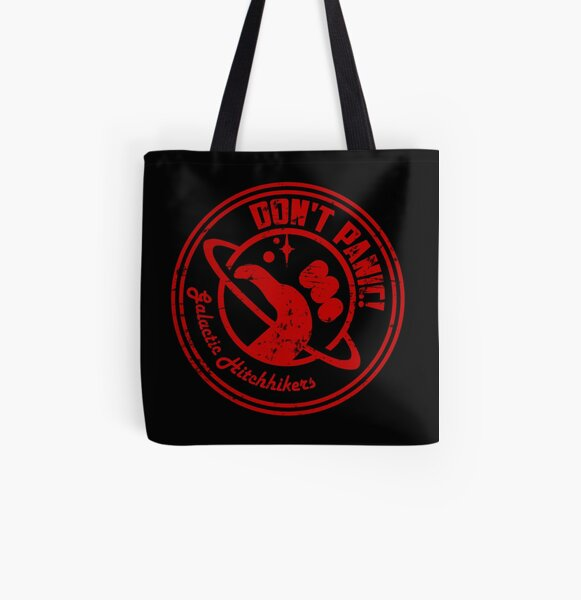 Galactic Hitchhikers Logo All Over Print Tote Bag