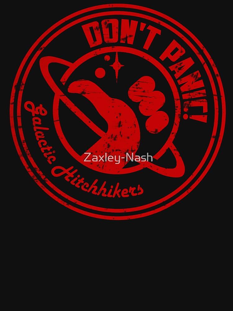 Galactic Hitchhikers Logo by Zaxley-Nash