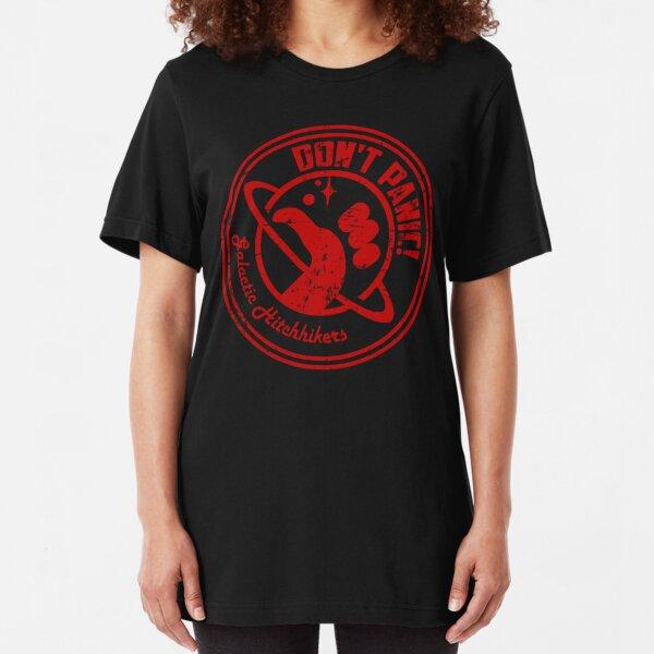 Galactic Hitchhikers Logo Slim Fit T-Shirt