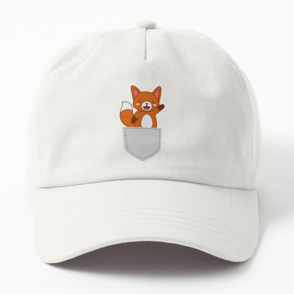 Kawaii Pocket Friends - Happy Fox Dad Hat