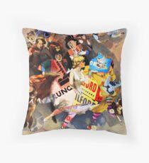 The Sandow Bauhaus Trocadero Vaudevilles. Throw Pillow