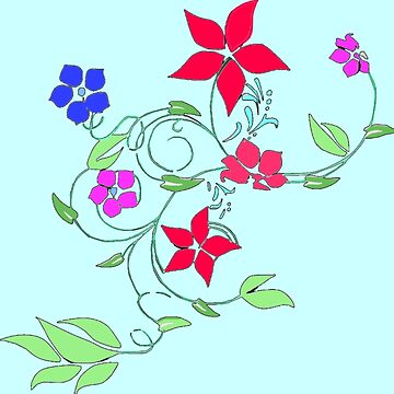 Floral vine by KayJay28