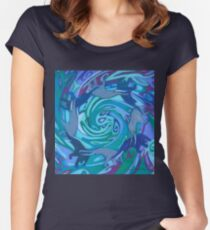 Danavas Women's Fitted Scoop T-Shirt