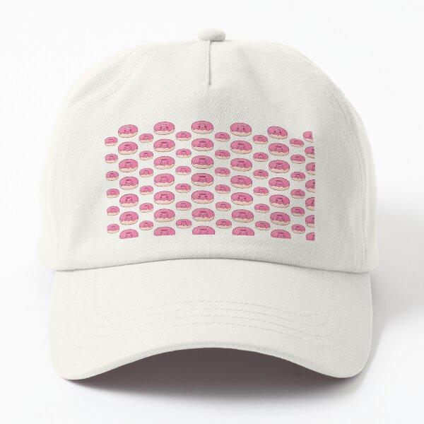 Kawaii Doughnuts Pattern Dad Hat