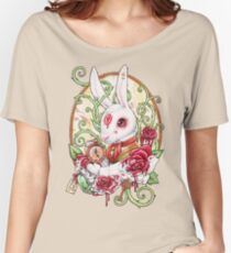 Rabbit Hole Women's Relaxed Fit T-Shirt