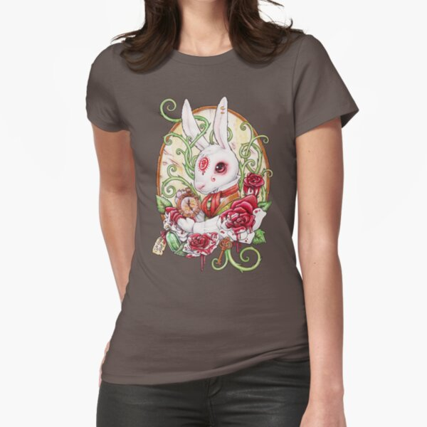 Rabbit Hole Fitted T-Shirt