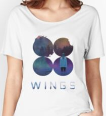 BTS-Jimin-LIES [White] Women's Relaxed Fit T-Shirt