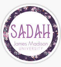 JMU SADAH Sticker