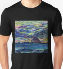 Rainbow sky at night, painters delight Unisex T-Shirt