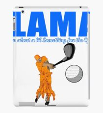 Hey Lama iPad Case/Skin