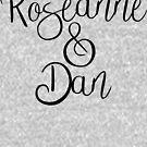 Roseanne und Dan von kjanedesigns