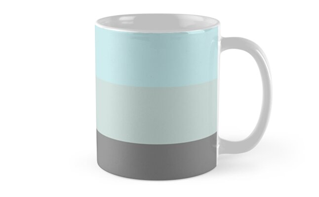 Aqua Neutral Tricolor by CecelyBloom
