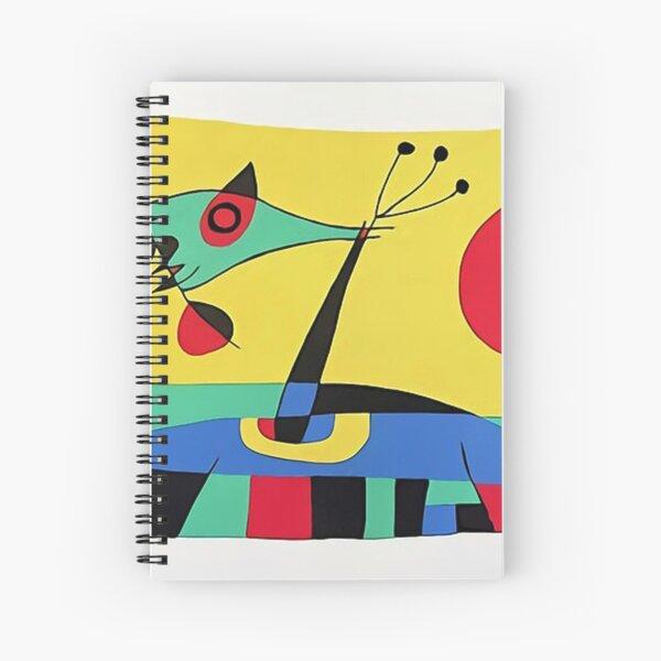 Joan Miro The Sun Spiral Notebook