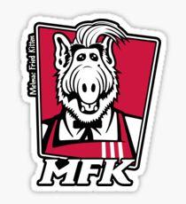 Melmac Fried Kitten Sticker