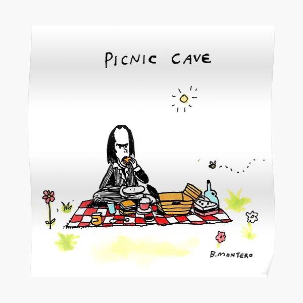 Picknick-Höhle Poster